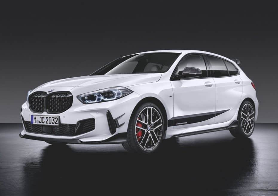 BMW M Performance Parts para el nuevo BMW Serie 1: Deportividad para todos los gustos