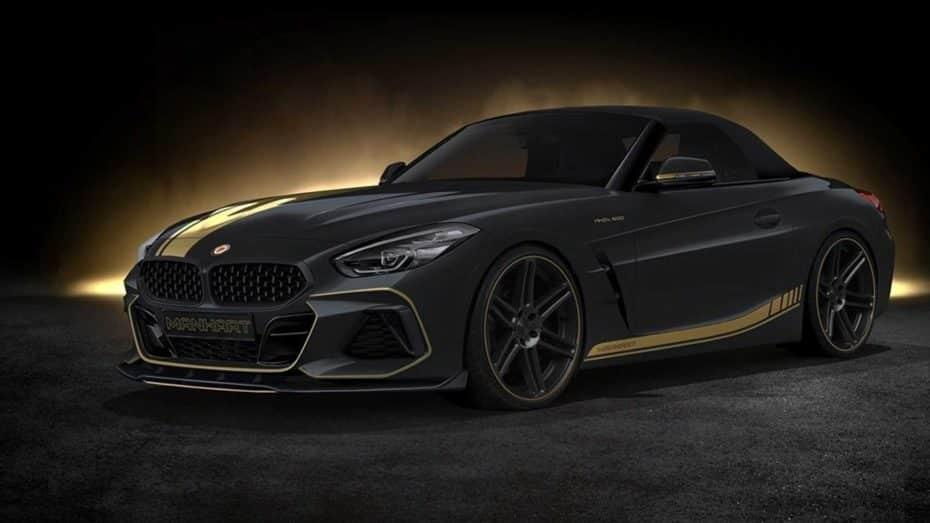 A falta de un BMW Z4 M, la propuesta de Manhart rondará los 500 CV de potencia