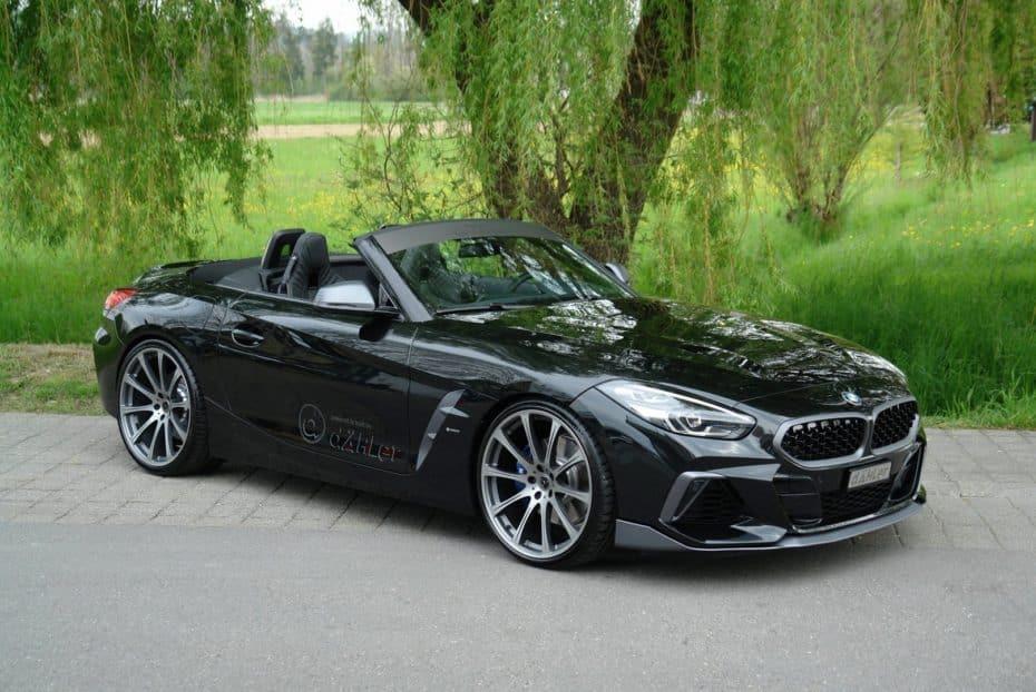 Discreto, pero matón: El BMW Z4 M40i de Dähler llega con un interesante aumento de potencia