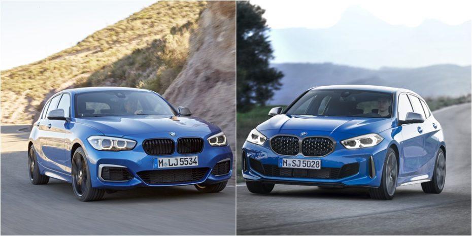 Comparación visual: Juzga tú mismo si el BMW Serie 1 2019 ha cambiado a mejor o a peor