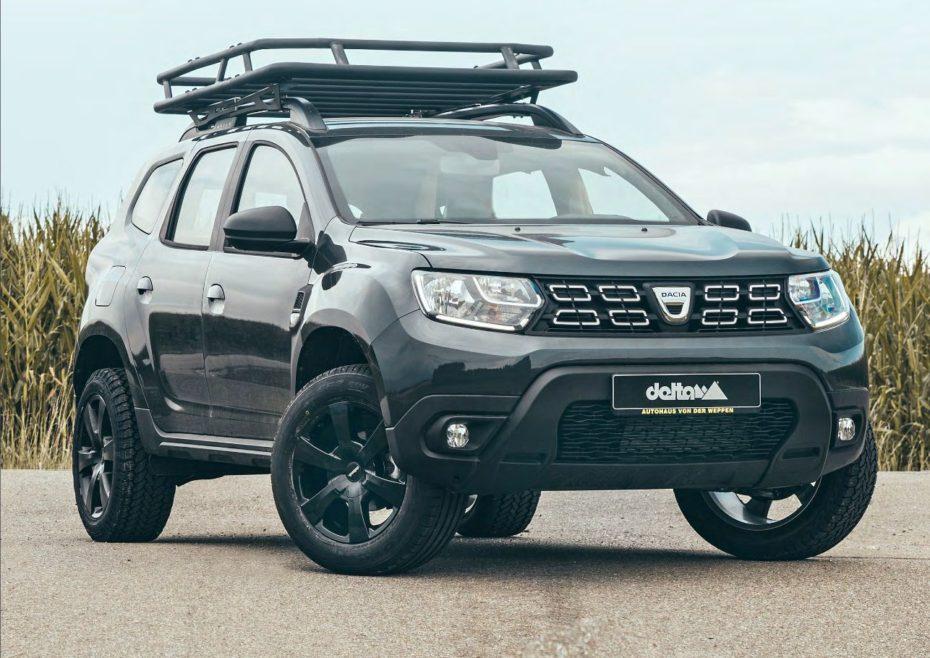 El Dacia Duster de Delta 4×4 es ideal para salirte de los límites del camino