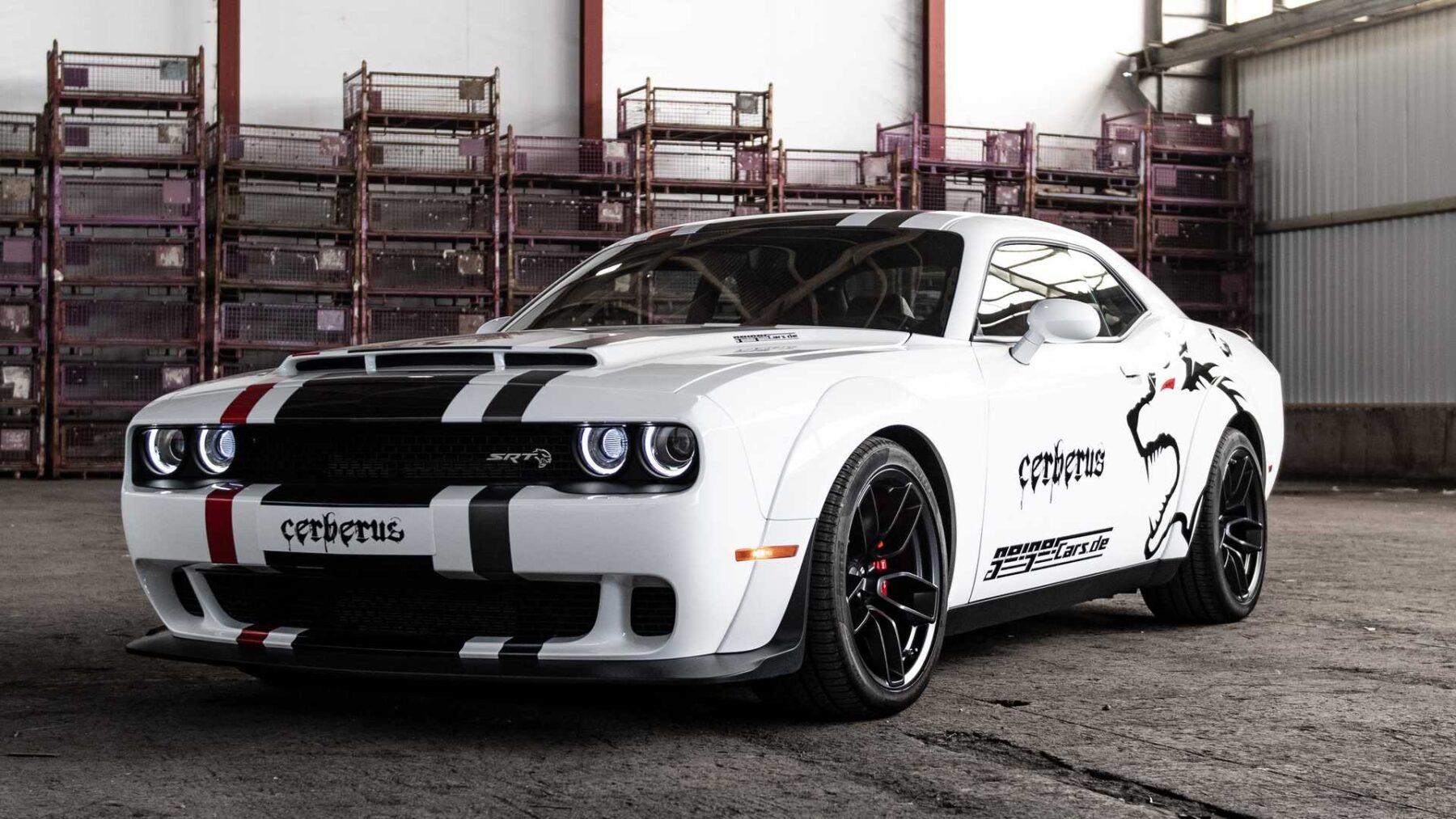 Este Dodge Challenger Srt Hellcat Se Llama Cerberus Y Esconde 173 Cv Adicionales En Su V8