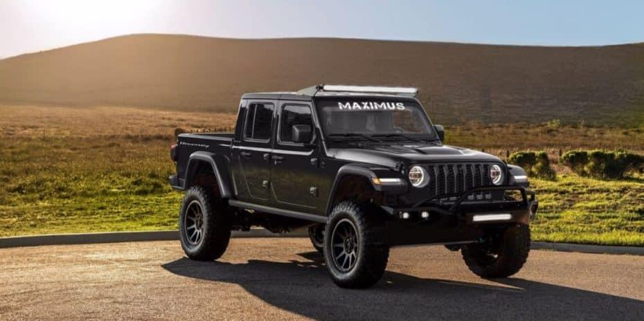 Hennessey Maximus: 1000 CV, base de Jeep Gladiator y un precio astronómico