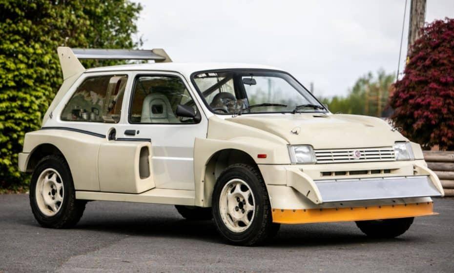 ¡Joya única a la venta!: Este MG Metro 6R4 del Grupo B está sin estrenar…