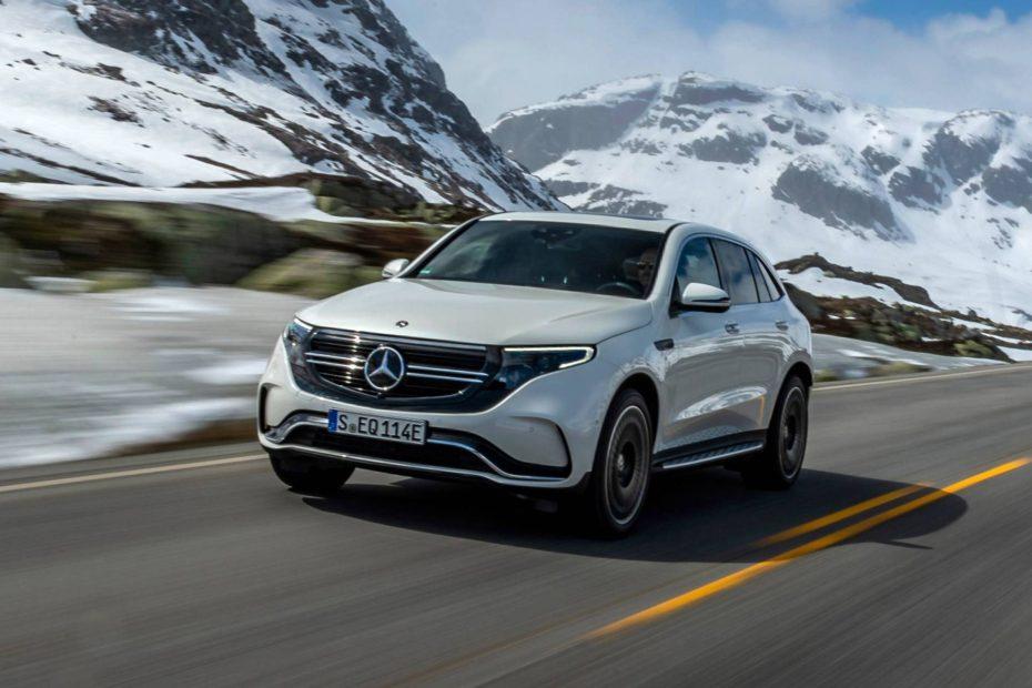 Nuevas imágenes del Mercedes-Benz EQC: Descubre todos los secretos del SUV eléctrico