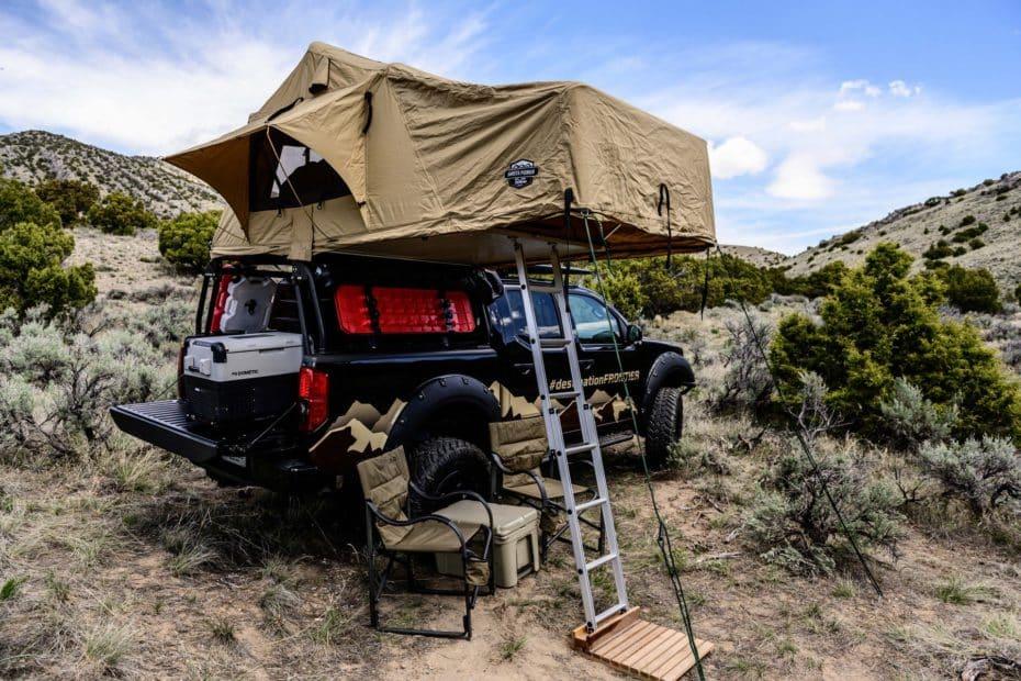 Nissan Destination Frontier: Una de las camper off-road más salvajes que vas a ver