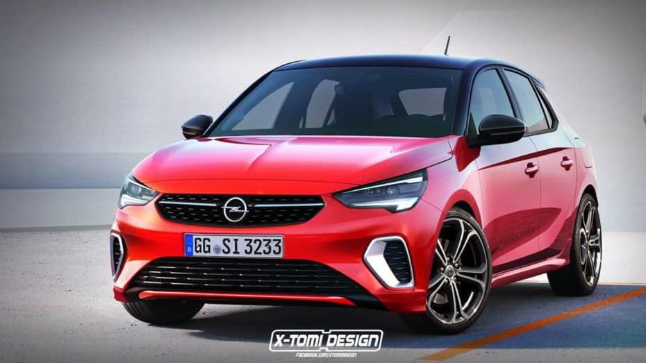 ¿Serán así de atractivos los Opel Corsa GSi y OPC de nueva generación? Esperemos que sí