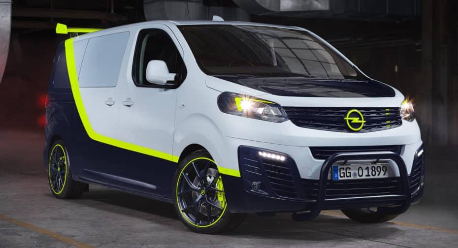 Opel O-Team Zafira Life: Una reinterpretación moderna de la furgo del Equipo A