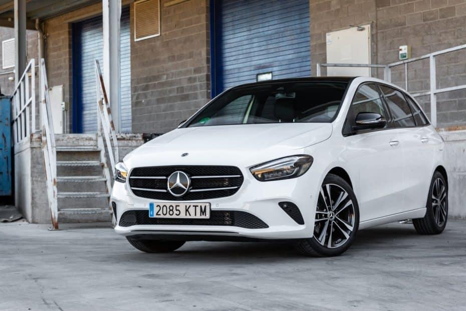 Prueba Mercedes-Benz Clase B 200 d 8G-DCT 150 CV 2019: La revolución de los monovolúmenes compactos