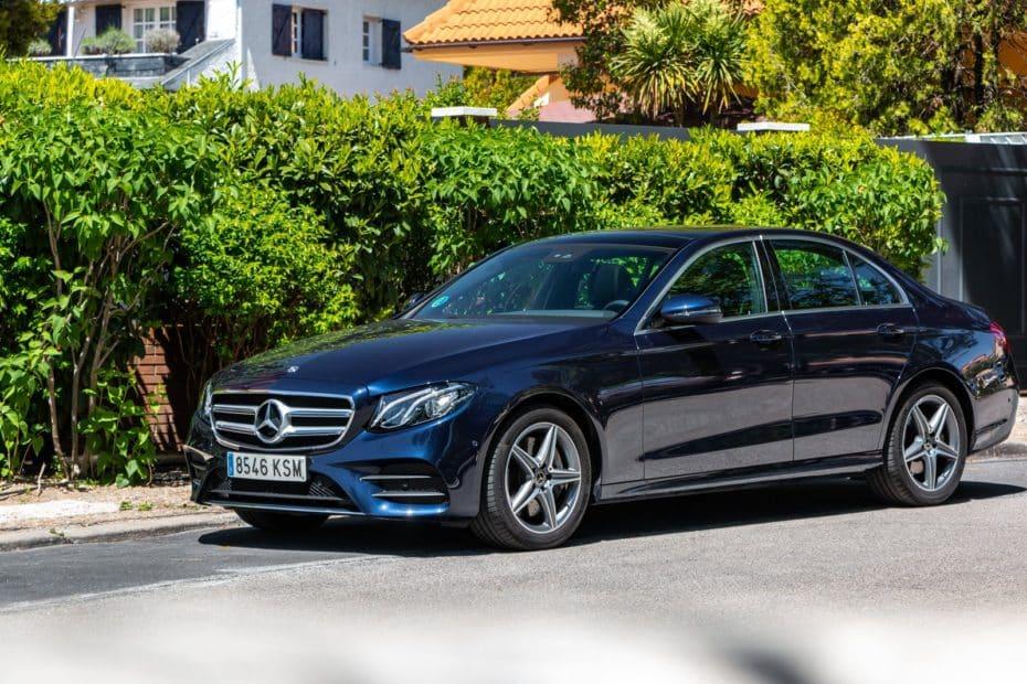 Prueba Mercedes-Benz Clase E 350 Berlina 299 CV 2019: Un potente salón rodante con pegatina ECO
