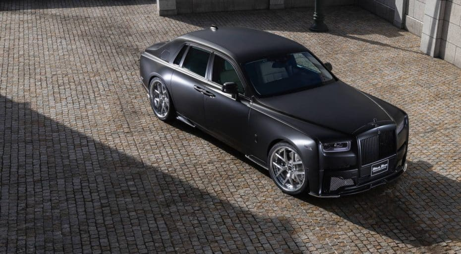 Este es el claro ejemplo de cómo acabar con la elegancia de un Rolls-Royce Phantom