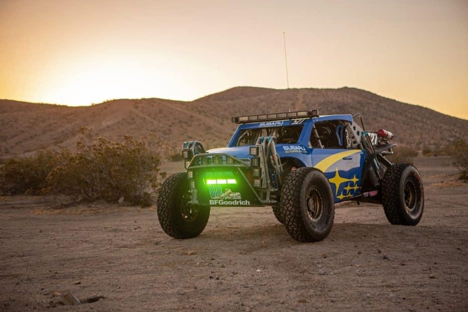 Subaru Crosstrek Desert Racer: Debutará este fin de semana y pretende alzarse con la victoria