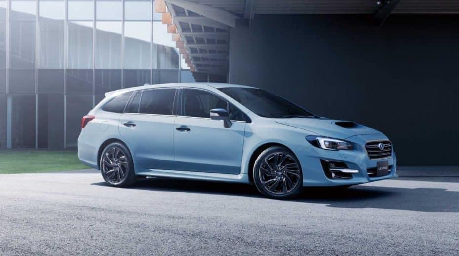 Subaru Levorg STI Sport: Estética deportiva y un motor de 2.0 litros turbo que no veremos