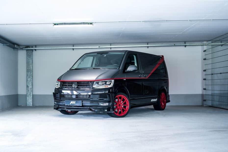 Así sería la furgo del Equipo A si fuese una Volkswagen T6: Debutará en Wörthersee