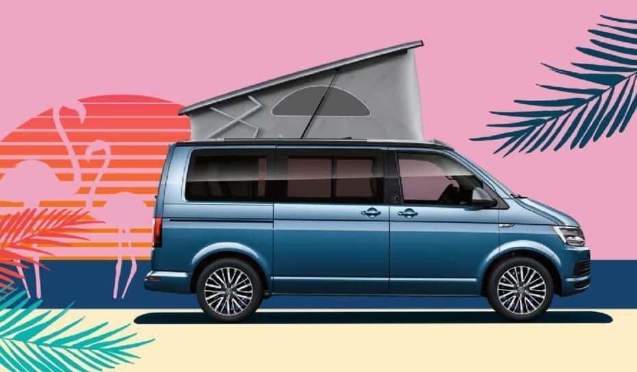 Hacerte con una Volkswagen California de renting por 390 + IVA puede ser una buena idea