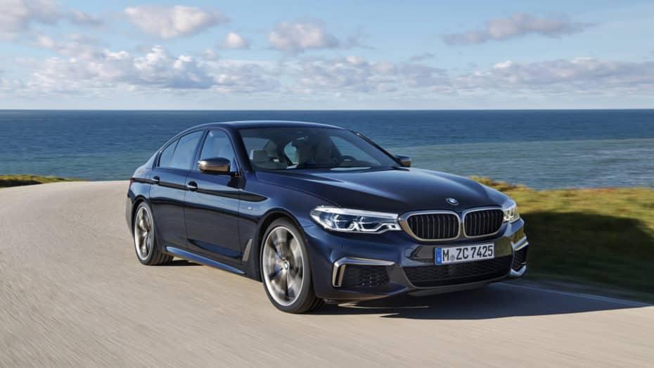 El BMW M550i recibe el motor del Serie 8: Con 530 CV