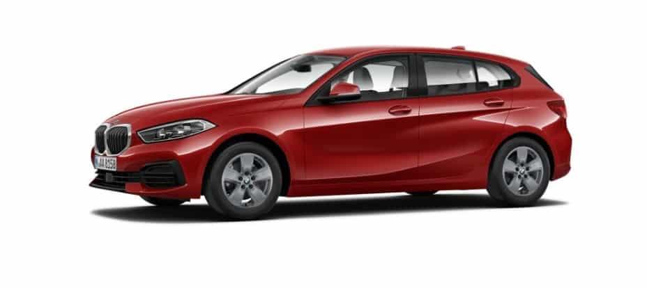 Así luce el nuevo BMW Serie 1 básico