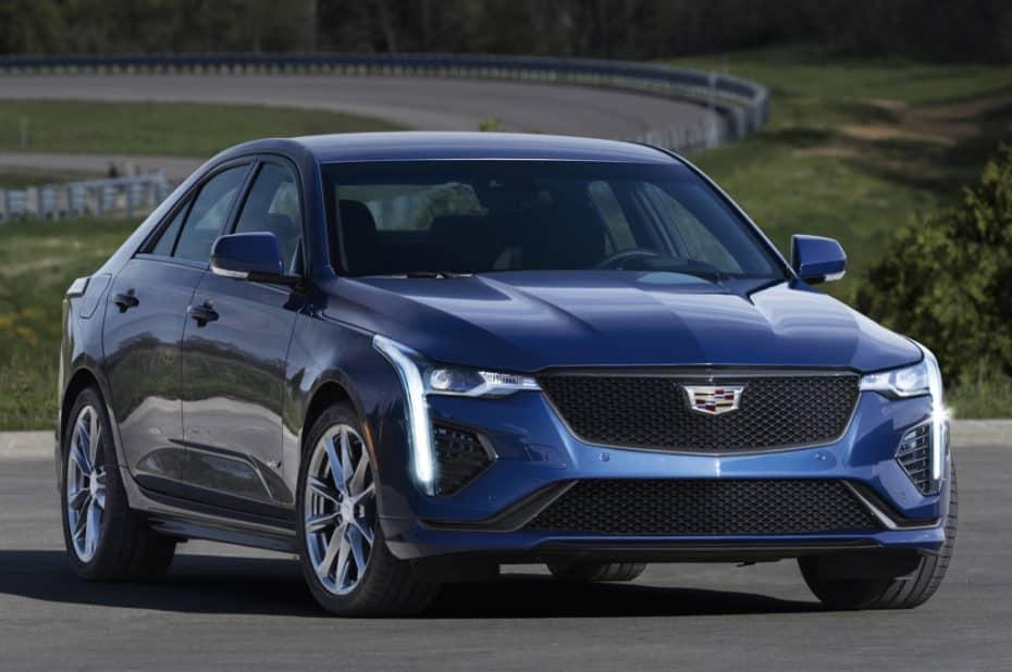 Así es el Cadillac CT4-V: La berlina compacta de altas prestaciones