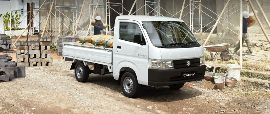 Así es el nuevo Suzuki Carry para Asia