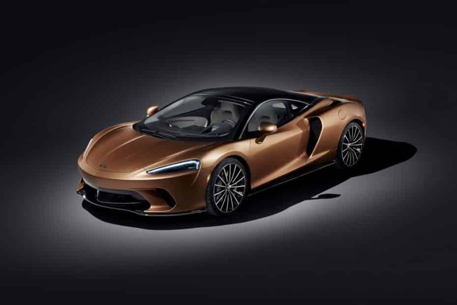 Así es el nuevo McLaren GT