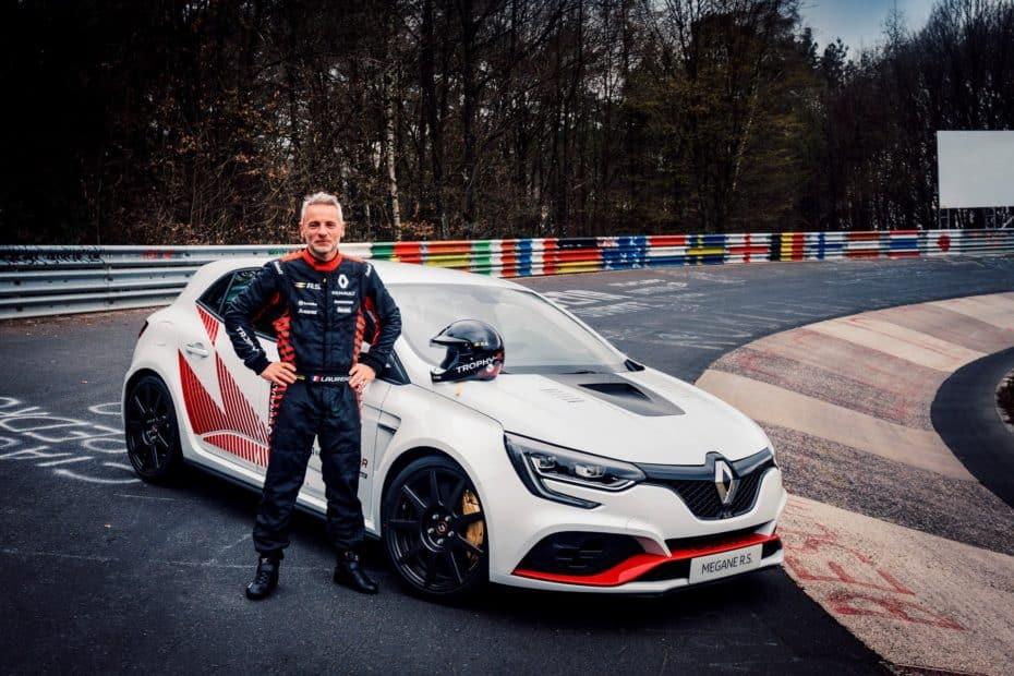 El Renault Mégane RS Trophy R registra un nuevo récord en Nürburgring
