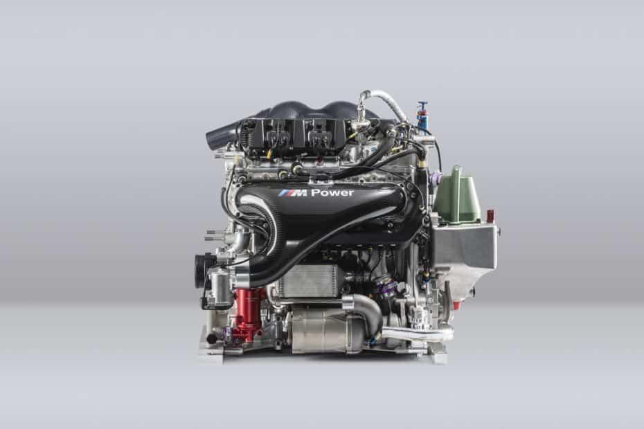 Lo último de BMW es un motor turbo de cuatro cilindros y 2.0 litros con 600 CV de potencia