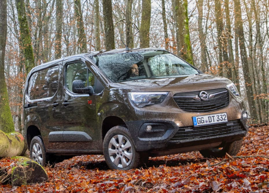 El Opel Combo Cargo estrena tracción total