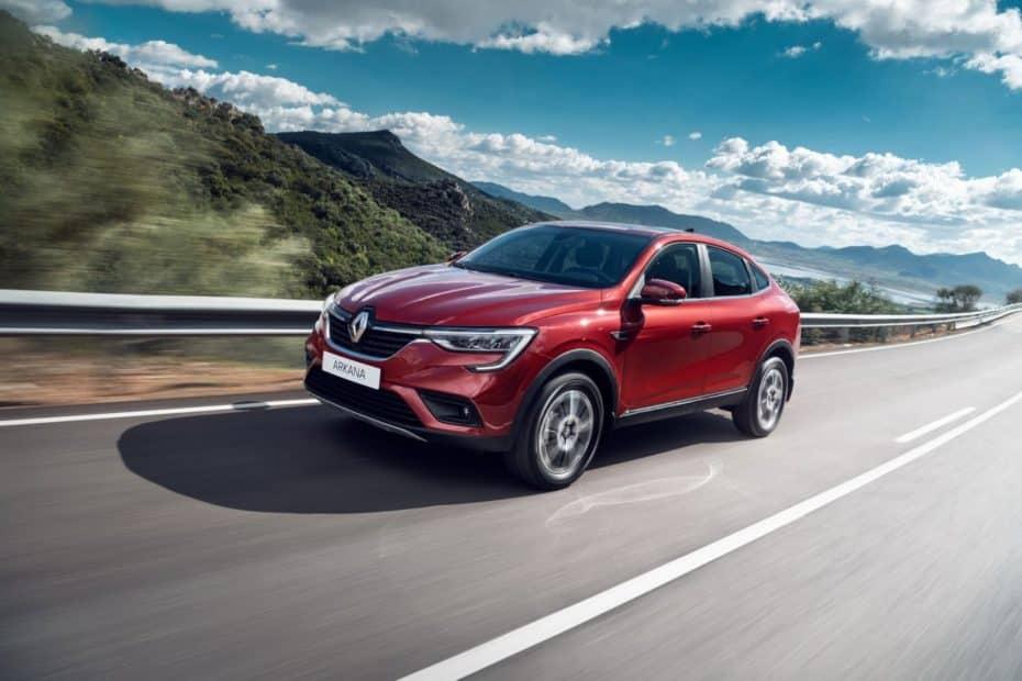 Así es el Renault Arkana de producción: No para Europa