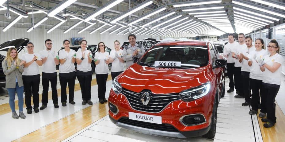 Renault produce la unidad medio millón del Kadjar