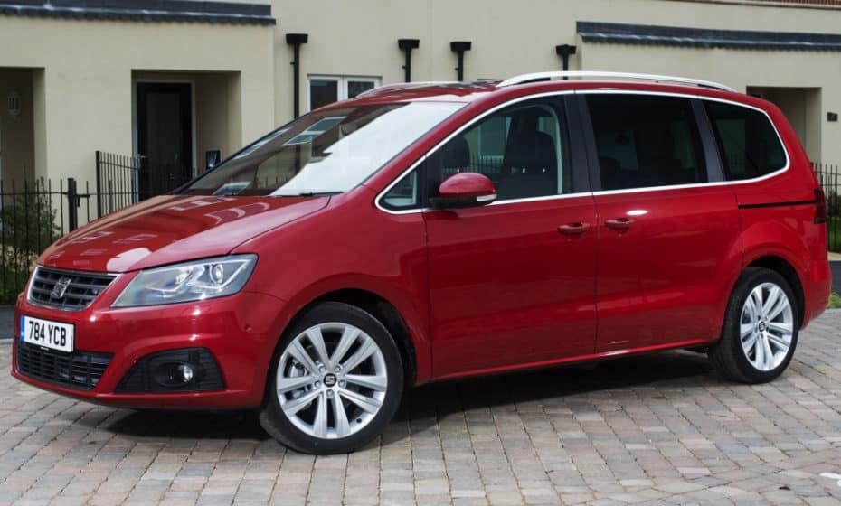 El SEAT Alhambra domina las ventas de MPV Grandes en Europa