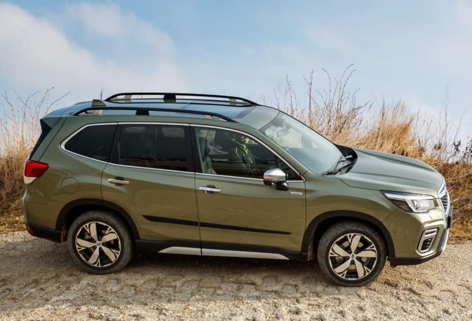 Detalle de equipamiento del nuevo Subaru Forester híbrido
