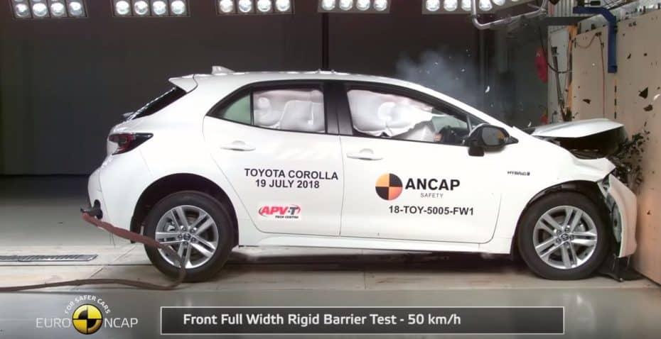 Nueva tanda de pruebas Euro NCAP: Clio, Mazda3, Corolla, e-tron, T-Cross, UX y RAV4
