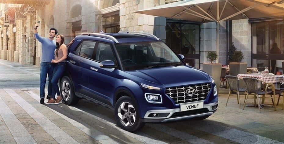 El Hyundai Venue arrasa en la India: Más de 15 mil pedidos