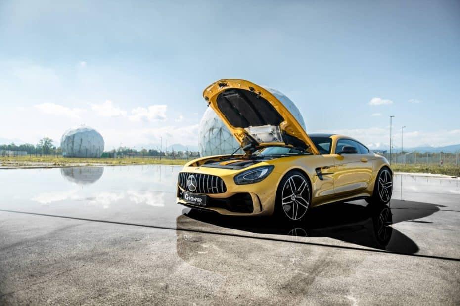 El Mercedes-AMG GT R de G-Power tiene 215 CV extra: Este sí que es el verdadero Hulk