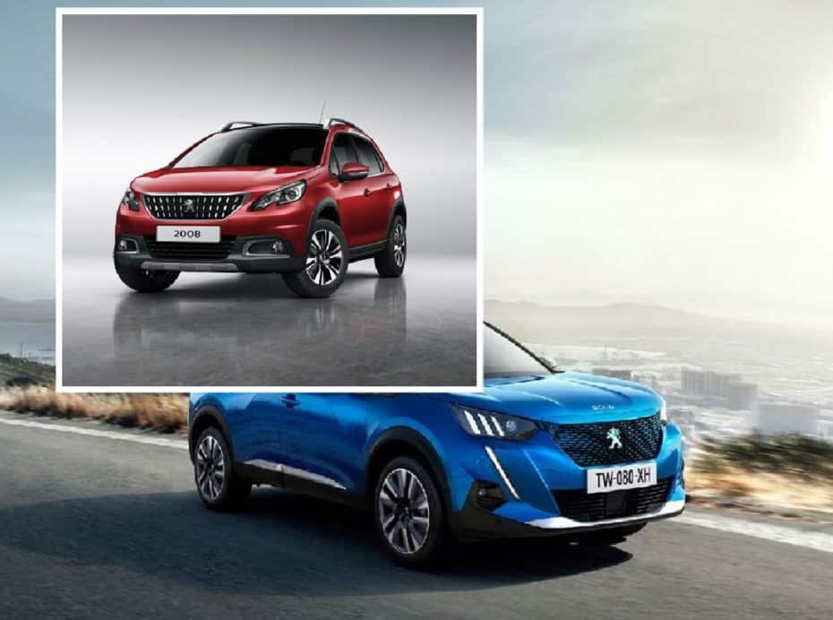 Comparativa visual: Juzga tú mismo cuánto ha cambiado el nuevo Peugeot 2008