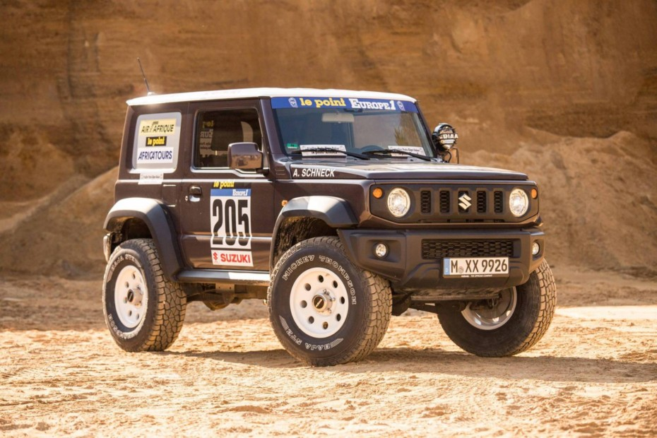 El Suzuki Jimny de Delta 4×4 sería una gran apuesta para el Dakar: Homenajeando a un mito