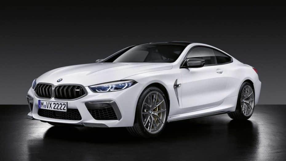 Las 'chucherías' del catálogo M Performance Parts ahora también para los BMW M8 y M8 Cabrio