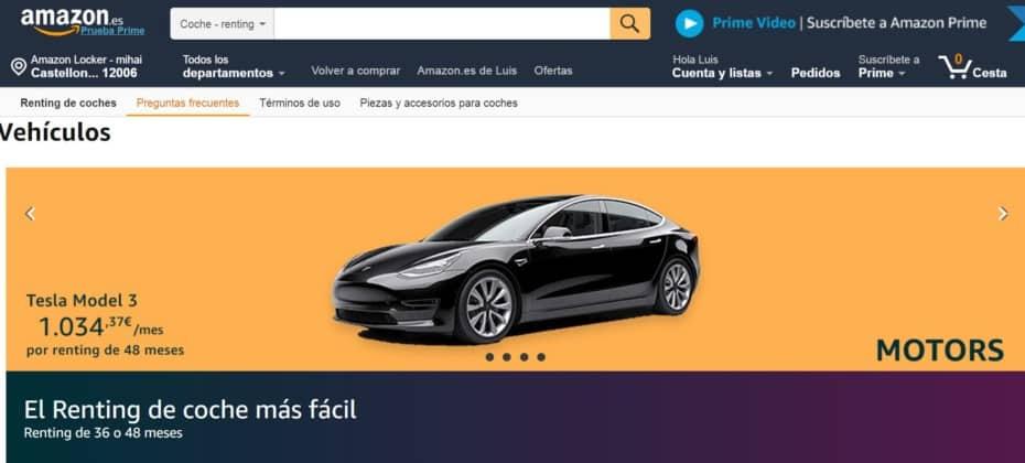 Amazon se lanza al renting con «Motors»: Todo de la mano de ALD