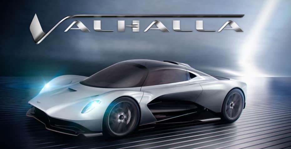 Valhalla, el último «hypercar» con motor central de Aston Martin