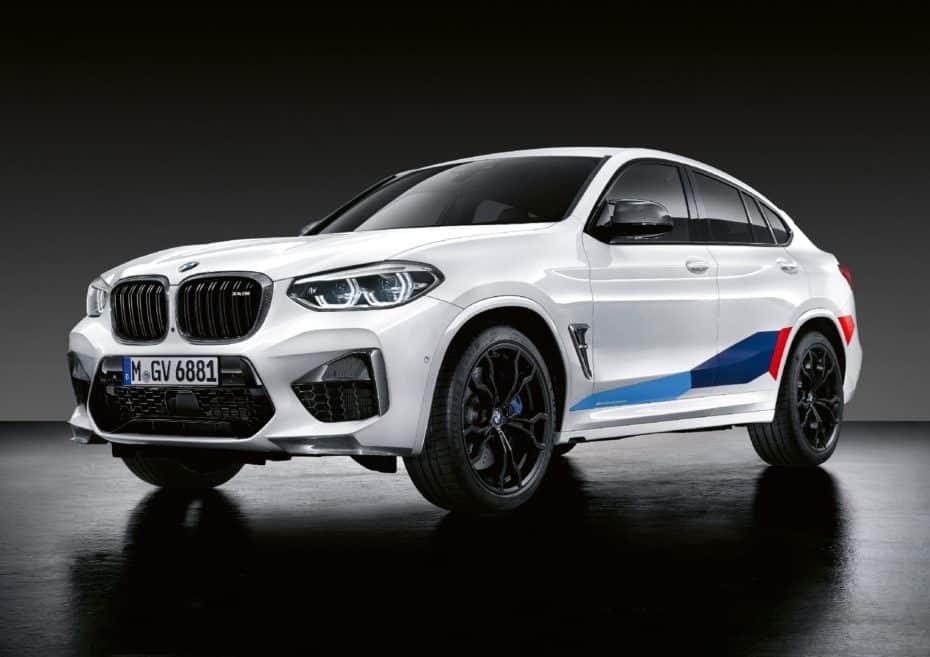 Los BMW X3 M y X4 M reciben las M Performance Parts: Sencillamente brutales