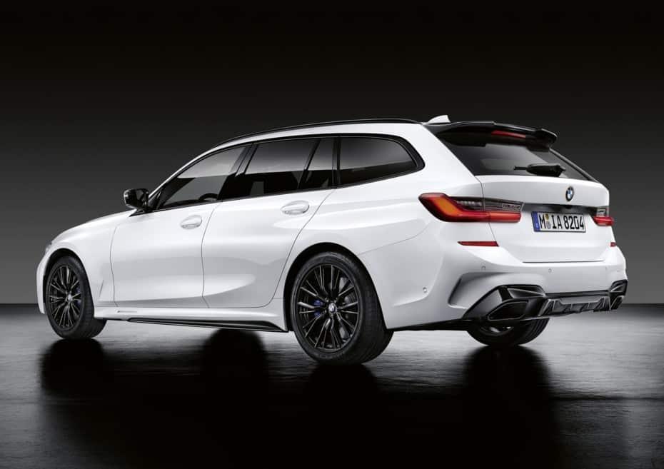 Las M Performance Parts llegan al Serie 3 Touring: ¿Lo más cerca de la estética de un M3 Touring que estaremos?