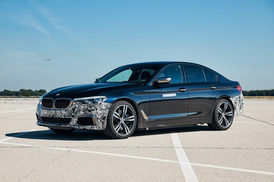 Esto es lo más cerca de un BMW M5 100% eléctrico que estaremos por el momento: Un prototipo de 720 CV