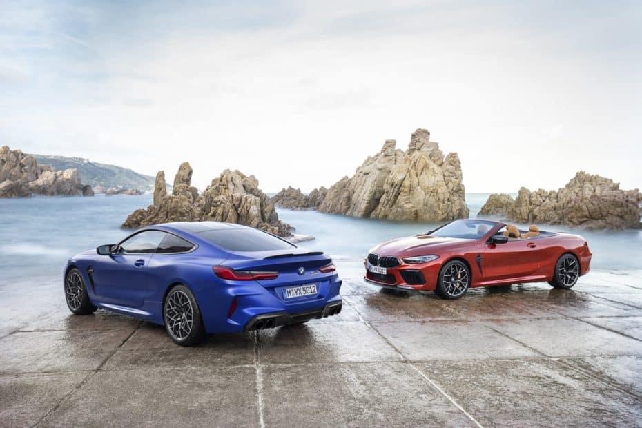 ¡Oficial! BMW M8 y M8 Cabrio 2019: Hasta 625 CV en las versiones Competition y muchas 'chucherías'