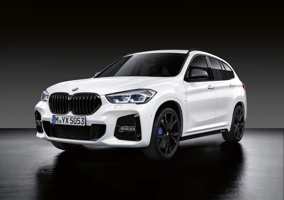 Los accesorios M Performance Parts también llegan al BMW X1: Fibra para el SUV