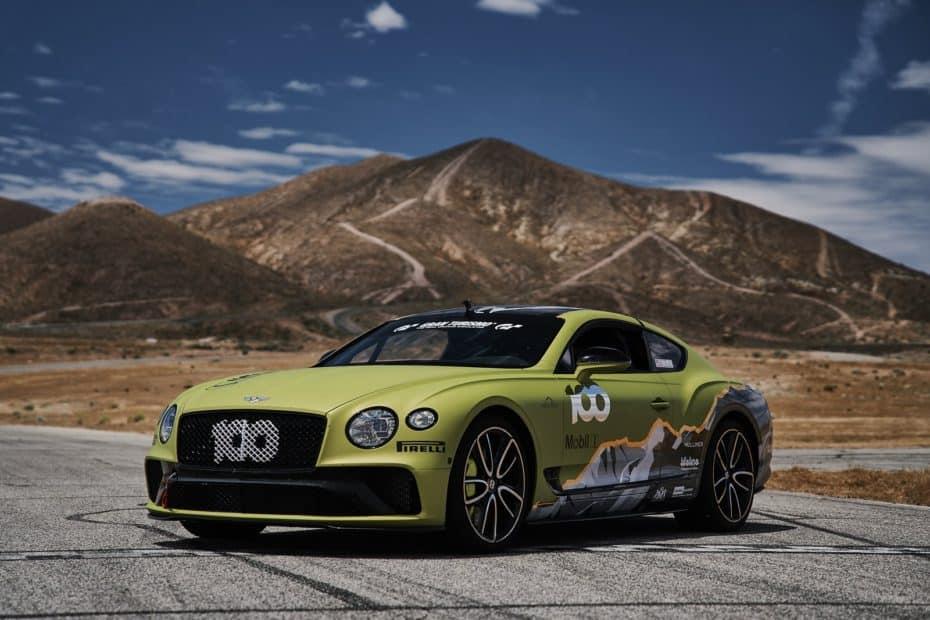 Bentley intentará batir el récord de Pikes Peak en su centenario con un Continental GT muy especial