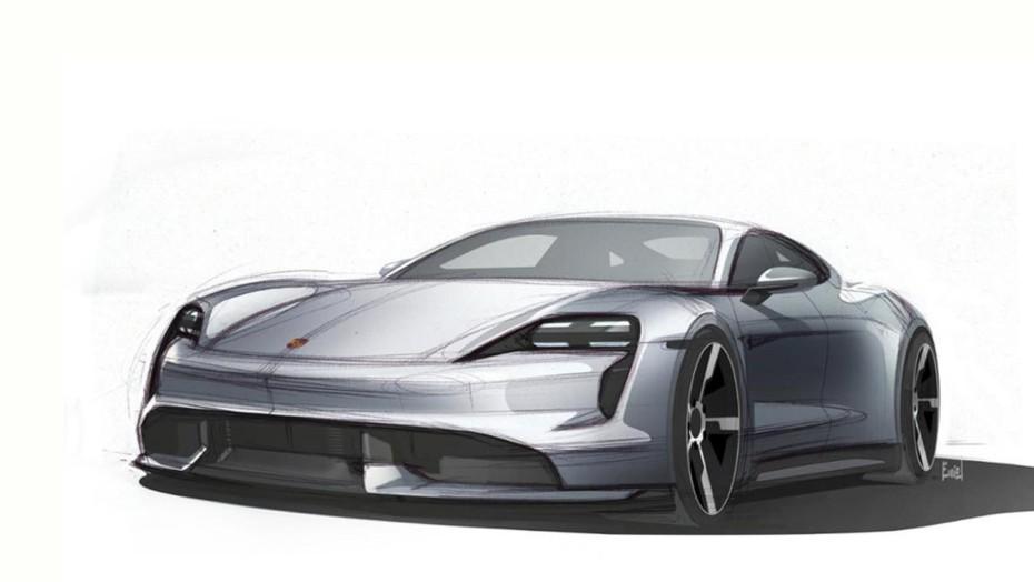 El Porsche Taycan 2020 comienza a mostrarnos su aspecto definitivo