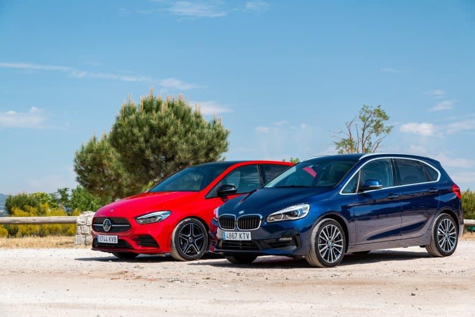 Comparativa BMW 218i Active Tourer vs. Mercedes-Benz B 200 2019: Te obligarán a priorizar