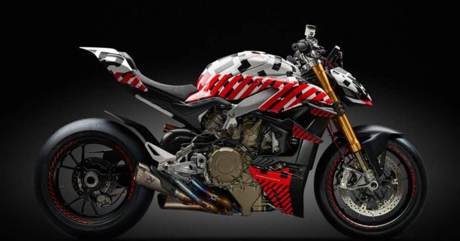 Ducati nos muestra la Streetfighter V4 Prototype, una Panigale V4 naked