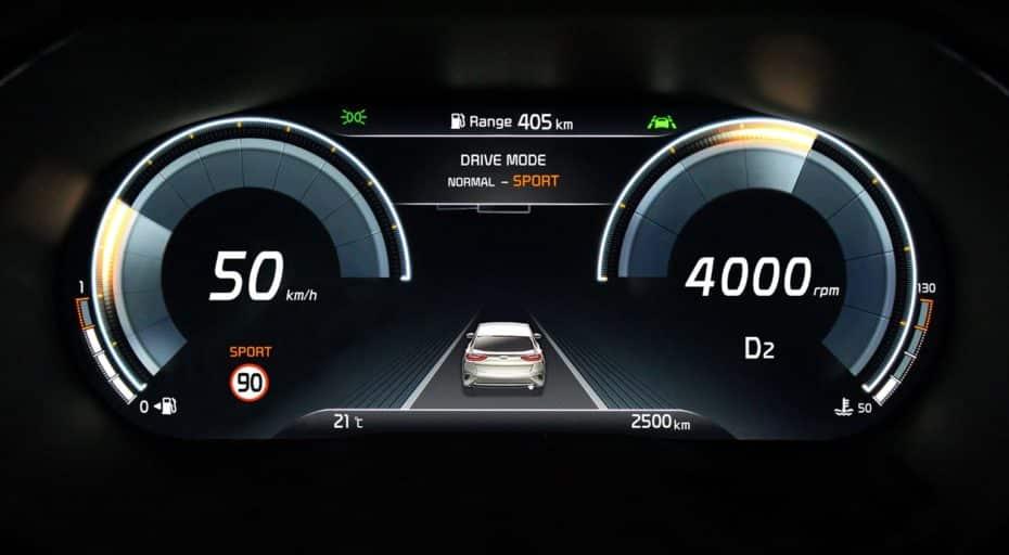 Así es el cuadro de instrumentos 100% digital de Kia: Debutará en el XCeed