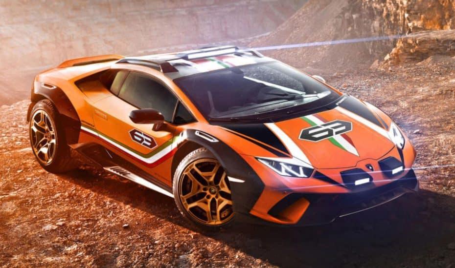 Lamborghini Huracán Sterrato Concept: Un «guiño» al Jarama y al Urraco